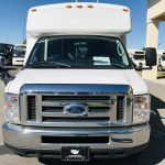 Ford E350 14 passenger charter shuttle coach bus for sale - Gas 9