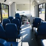 Ford E350 14 passenger charter shuttle coach bus for sale - Gas 12