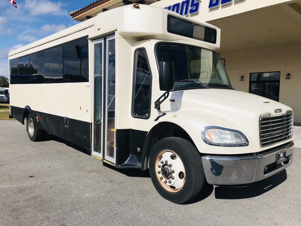 Freightliner 29 passenger charter shuttle coach bus for sale - Diesel