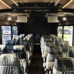 Freightliner 29 passenger charter shuttle coach bus for sale - Diesel 12