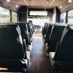 Freightliner 29 passenger charter shuttle coach bus for sale - Diesel 13
