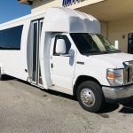 Ford E450 24 passenger charter shuttle coach bus for sale - Gas 1