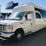 Ford E450 24 passenger charter shuttle coach bus for sale - Gas 8