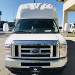 Ford E450 24 passenger charter shuttle coach bus for sale - Gas 9
