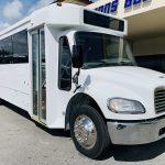 Freightliner 29 passenger charter shuttle coach bus for sale - Diesel 1