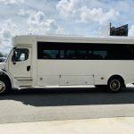 Freightliner 29 passenger charter shuttle coach bus for sale - Diesel 7