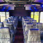Freightliner 29 passenger charter shuttle coach bus for sale - Diesel 11