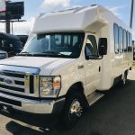 Ford E350 14 passenger charter shuttle coach bus for sale - Gas 7