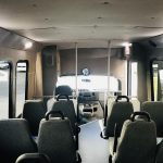 Ford E350 14 passenger charter shuttle coach bus for sale - Gas 14