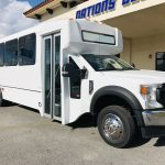 Ford F550 30 passenger charter shuttle coach bus for sale - Gas 1