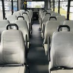 Ford F550 30 passenger charter shuttle coach bus for sale - Gas 9