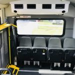 Ford F550 30 passenger charter shuttle coach bus for sale - Gas 11