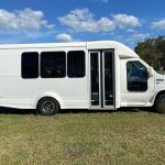 Ford E350 14 passenger charter shuttle coach bus for sale - Gas 1