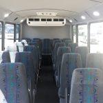 Ford E450 25 passenger charter shuttle coach bus for sale - Gas 15