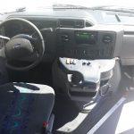 Ford E450 25 passenger charter shuttle coach bus for sale - Gas 19