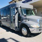 International 20 passenger charter shuttle coach bus for sale - Diesel 1