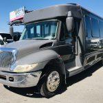 International 20 passenger charter shuttle coach bus for sale - Diesel 9