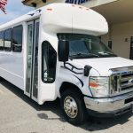 Ford E450 28 passenger charter shuttle coach bus for sale - Gas 1