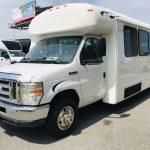 Ford E450 28 passenger charter shuttle coach bus for sale - Gas 9