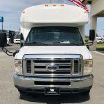 Ford E450 28 passenger charter shuttle coach bus for sale - Gas 10
