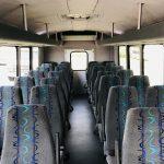 Ford E450 28 passenger charter shuttle coach bus for sale - Gas 12