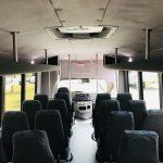 Ford E450 28 passenger charter shuttle coach bus for sale - Gas 14
