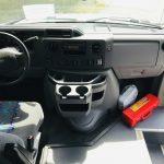 Ford E450 28 passenger charter shuttle coach bus for sale - Gas 16