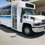 Chevy C5500 29 passenger charter shuttle coach bus for sale - Diesel 1