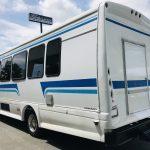 Chevy C5500 29 passenger charter shuttle coach bus for sale - Diesel 7