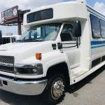 Chevy C5500 29 passenger charter shuttle coach bus for sale - Diesel 9
