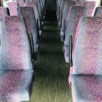 Chevy C5500 29 passenger charter shuttle coach bus for sale - Diesel 11