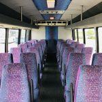 Chevy C5500 29 passenger charter shuttle coach bus for sale - Diesel 12