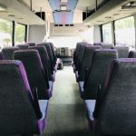 Chevy C5500 29 passenger charter shuttle coach bus for sale - Diesel 13