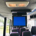 Chevy C5500 29 passenger charter shuttle coach bus for sale - Diesel 14