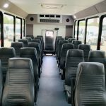 Ford E450 25 passenger charter shuttle coach bus for sale - Gas 11