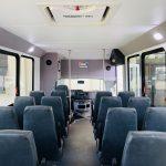 Ford E450 25 passenger charter shuttle coach bus for sale - Gas 13