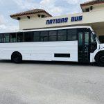 Freightliner 40 passenger charter shuttle coach bus for sale - Diesel 2