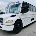 Freightliner 40 passenger charter shuttle coach bus for sale - Diesel 8