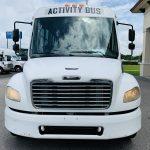 Freightliner 40 passenger charter shuttle coach bus for sale - Diesel 9