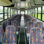 Freightliner 40 passenger charter shuttle coach bus for sale - Diesel 11