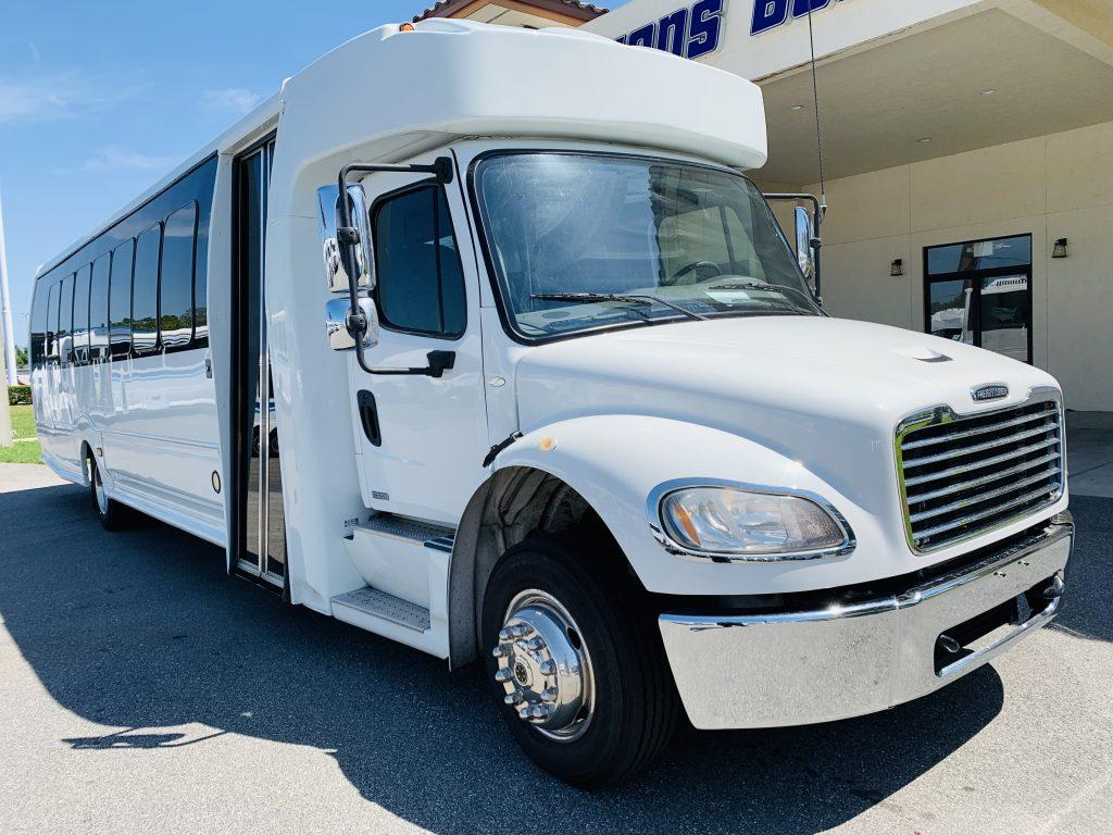 Freightliner 33 passenger charter shuttle coach bus for sale - Diesel