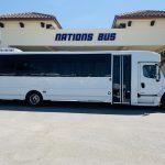 Freightliner 33 passenger charter shuttle coach bus for sale - Diesel 3