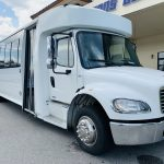 Freightliner 36 passenger charter shuttle coach bus for sale - Diesel 2