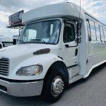 Freightliner 36 passenger charter shuttle coach bus for sale - Diesel 9