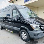 Mercedes 10 passenger charter shuttle coach bus for sale - Diesel 1