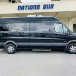 Mercedes 10 passenger charter shuttle coach bus for sale - Diesel 2