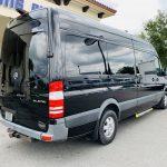 Mercedes 10 passenger charter shuttle coach bus for sale - Diesel 3