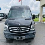 Mercedes 10 passenger charter shuttle coach bus for sale - Diesel 8