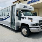 Chevy C5500 34 passenger charter shuttle coach bus for sale - Diesel 1