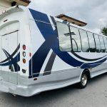 Chevy C5500 34 passenger charter shuttle coach bus for sale - Diesel 3